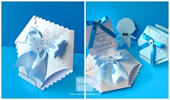 Blue Baby thank you cards